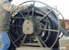 Wąż tłoczny 110 mm, paliwa, oleje, woda, na przyczepce Niedrzwica Duża
