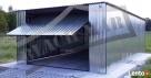 Garaż Blaszany 4x6 brama PRODUCENT WZMOCNIONY