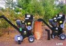 RĘBAK RTB13 TERMIT 2W, 2 rodzaje wyrzutników zrębki, 13kM Nozdrzec