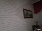 płytki gipsowa biała cegła z fuga dekoracyjne scienne - 4
