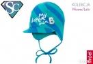BROEL Basic 41 czapka z daszkiem niemowlęca 37, 39, 41 Szczecin