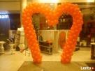 Ozdoby z balonów warszawa balony z helem girlanda z balonów