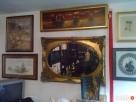 lustra w ramach złoconych - 1