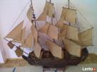 drewniane modele okrętów Koszalin