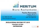 Rozliczenia roczne PIT dochody z kraju i zagranicy Górowo Iławeckie