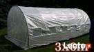 3x6 OCYNKOWANY Tunel Foliowy Szklarnia Mocna Konstrukcja Róż