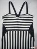 H&M modna NOWA sukienka Marynarska Paski 38 40 - 5
