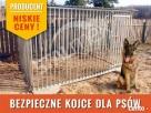 Kojce dla psów, kojec dla psa ,klatka, zagroda Opole