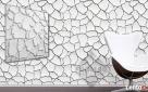 PANEL 3D panele ścienne PŁYTKI DEKORACYJNE gipsowe Wrocław