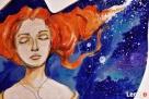 Obraz malowany na drewnie WIELOŚWIATY artystki A. Laube - 4