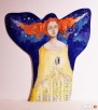 Obraz malowany na drewnie WIELOŚWIATY artystki A. Laube - 1