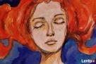 Obraz malowany na drewnie WIELOŚWIATY artystki A. Laube - 5