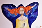 Obraz malowany na drewnie WIELOŚWIATY artystki A. Laube - 2