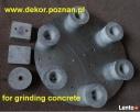 Tarcza do szlifowania betonu lub lastriko (na zacieraczkę) - 2