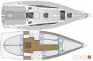 czarter Mazury jacht 10 osobowy Mellody30, 3 kabiny, 2018 r.