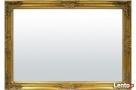 lustro rama zdobiona w kolorze złotym prostokąt 102 x 72 cm Limanowa