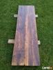 Blaty ze starego drewna Stare deski Loft Stół Industrialny - 4