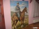 Obraz Piłsudski na kasztance sprzedam lub zamienię na... - 1
