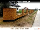 Elewacje i ogrodzenia kamienne z piaskowca - Pruszków - 8