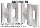 ŚCIANA PRZESŁONA 3D panel dekoracyjny 3D - 2
