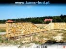 Elewacje i ogrodzenia kamienne z piaskowca - Pruszków - 6