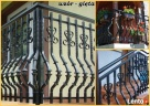 OGRODZENIA PLASTIKOWE/sztachety/balustrady/ P.P.H MAGRO - 4