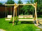 Meble ogrodowe, drewniane, z drewna.Transport 150 zł - 1