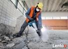Wiercenie otworów w betonie wiertnicą ,Wyburzanie ścian - 4