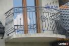 Balustrada zewnętrzna + miniowanie i malowanie natryskowe - 7
