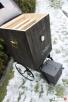 wędzarnia ogrodowa na kółkach,mobilna ,przenośna - 1
