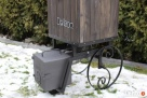 wędzarnia ogrodowa na kółkach,mobilna ,przenośna - 4