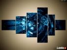 Obrazy, 6 elementów, tryptyki, obraz na płótnie, canvas - 6