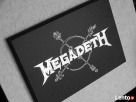 MEGADETH - Obraz na blasze... GRAWERKA - 1