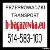 Bagażówka Warszawa Transport Przeprowadzki taxi tanio. - 1