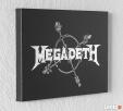 MEGADETH - Obraz na blasze... GRAWERKA - 3