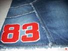 DŻINSOWA spódnica Aplikacja Numer38 M - 5