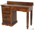 kolonialne drewniane biurko palisander indyjski Limanowa
