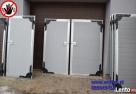 Drzwi nierdzewne do chlewni