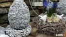 Ciekawa ozdoba do ogrodu jajko betonowe - 2
