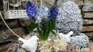 Ciekawa ozdoba do ogrodu jajko betonowe - 4