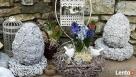 Ciekawa ozdoba do ogrodu jajko betonowe - 7