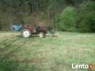 Koszenie traw mini-traktorkiem 4×4 kosiarką bijakową , glebo - 4
