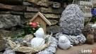 Ciekawa ozdoba do ogrodu jajko betonowe Jaworze