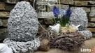 Ciekawa ozdoba do ogrodu jajko betonowe - 3