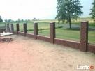 murowanie ogrodzen z klinkieru