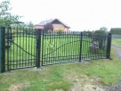 Balustrady,bramy,płoty kute, meble ogrodowe,piece Co - 1