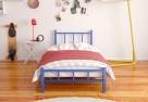 Łóżko metalowe młodzieżowe WZÓR 17 od Lak System - 1