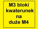 Zamienimy M3(36) w blokach kwaterunkowych na M4 też bloki
