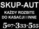 Skup Aut Warszawa Całe i uszkodzone Gotówka 507-333-555