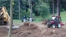 glebogryzarka miniciągnik prace ziemne - 6